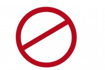 red-banned-sign