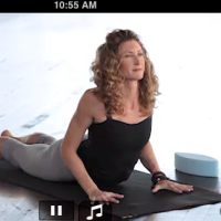Janet Stone Yoga iPhone App /// Looks Classy /// Also Looks Like It Was Shot in a Sex Party Loft