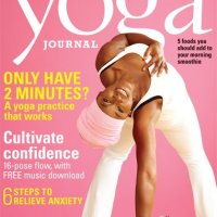 BREAKING NEWS: Yoga Journal Puts African American on Cover! /// Doesn't Prep White Public Like the Old Days