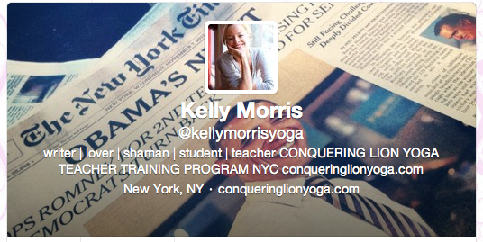 Kelly Morris is a Shaman /// Apparently the World Really Did