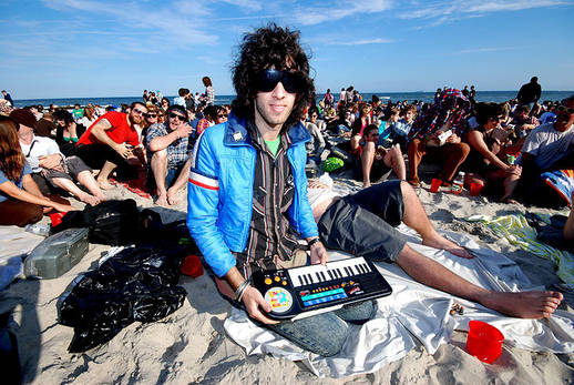 Hipsters ruin beaches