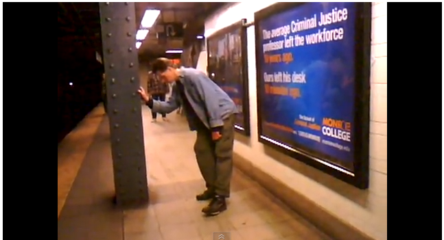 """That ever-so-common NYC site.... The """"meth dance"""""""